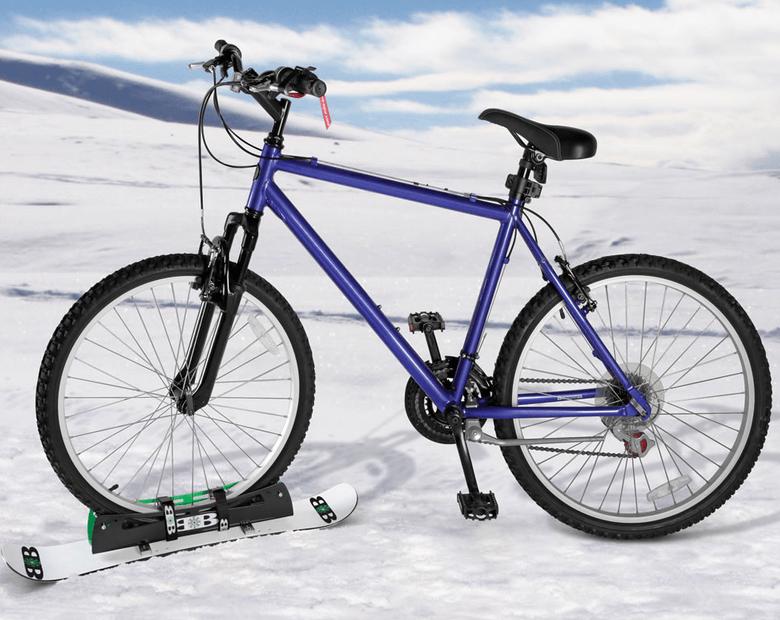bike snowboard