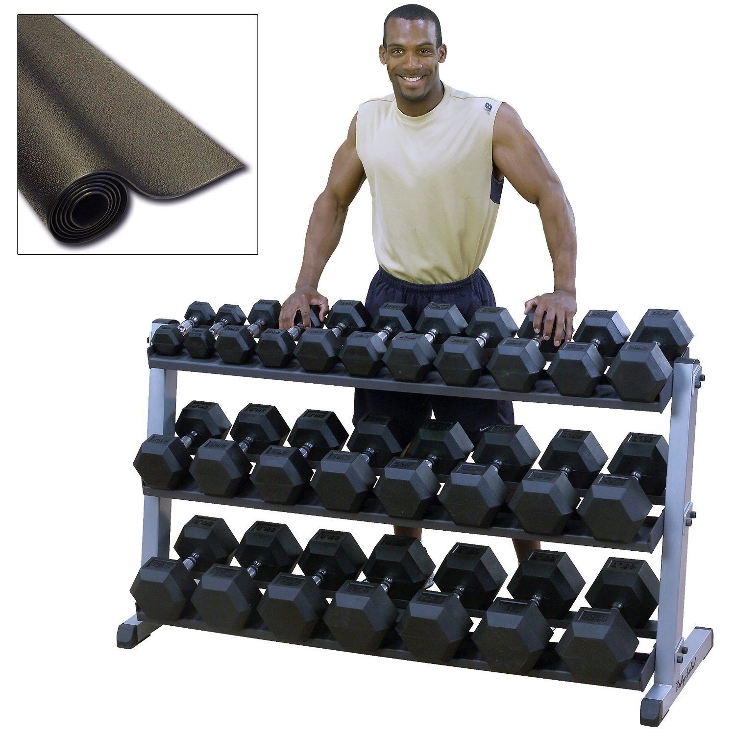 Weight Rack Walmart: Heavy Duty Dumbbell Set With Rack » Fitness Gizmos