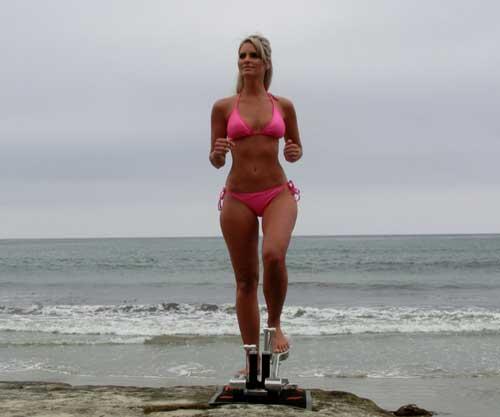 Walkslide Treadmill Cross Trainer Nordic Skier
