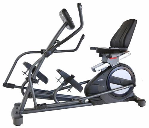 Elliptical Bike On Water: BodyCraft SCT400g Seated Elliptical Cross Trainer