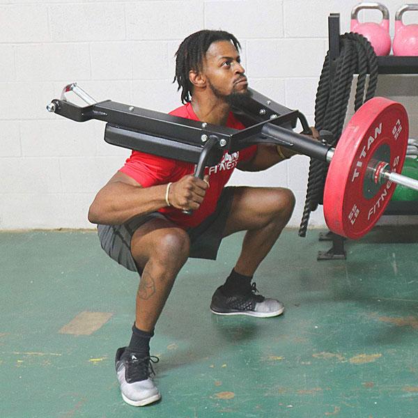 Titan Linebacker Landmine Squat Tool 187 Fitness Gizmos