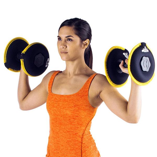 Hyperwear Softbell Adjustable Neoprene Dumbbells 187 Fitness