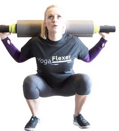 yoga flexer yoga mat  home gym » fitness gizmos