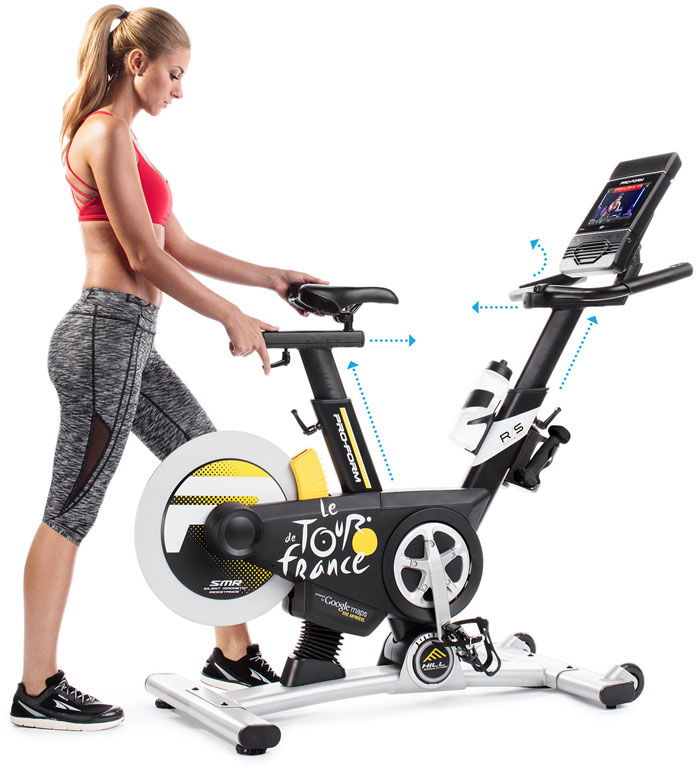 Studio Bike Pro Exercise Bike with Daily Classes » Fitness Gizmos