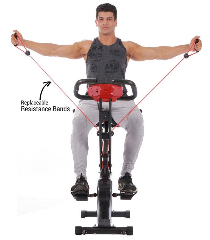 Pleny Upright Exercise Bike Amp Arm Exerciser 187 Fitness Gizmos