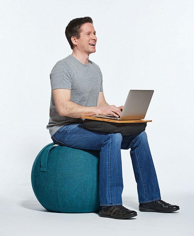 YogaBo Exercise Ball Seat » Fitness Gizmos