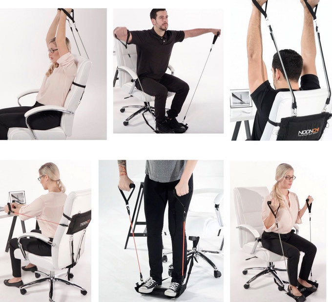 Pilates Pro Chair Tones Your Body Fitness Gizmos: Noonchi Office Chair Gym » Fitness Gizmos