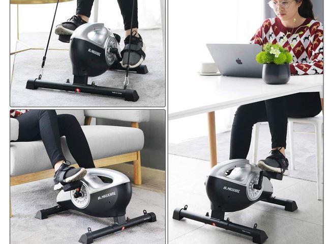 Maxkare Under Desk Magnetic Bike 187 Fitness Gizmos